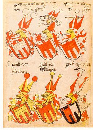 County Palatine of Tübingen - Image: Ingeram Codex 092