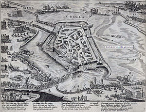 Inname van Grol door Spinola in 1606 - Capture of Groenlo by Spinola (Frans Hogenberg).jpg