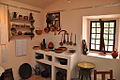 Intérieur d'une cuisine ancienne en Haute-Provence, Maison Nature et Patrimoine de Castellane.jpg