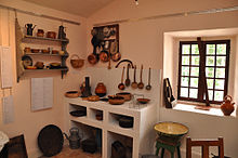 Habitat traditionnel de provence wikip dia - Photo d interieur de maison ...