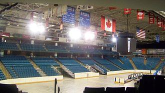 2016 IIHF Women's World Championship - Image: Interior Savings Centre Interior