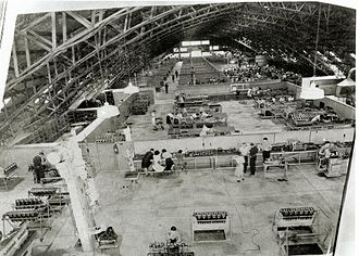 Allison Engine Company - GMH Allison Overhaul Assembly Plant in Brisbane during World War Two