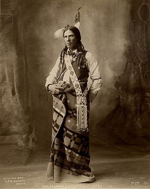 Omaha people - Little Snake, an Omaha interpreter.