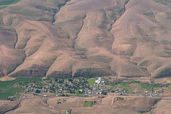 Aerial view of Ione
