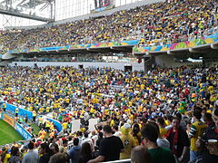 Iran and Nigeria match at the FIFA World Cup 2014-06-12 - Copa 2014 - FIFA World Cup 2014 - Curitiba (14438650462).jpg