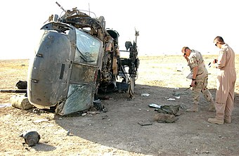 List of aviation shootdowns and accidents during the Iraq