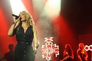 Ishtar (singer) - Ishtar performing in 2010