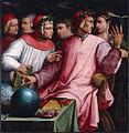 Italien humanists by Giorgio Vasari.jpg