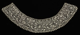 Needlepoint (Punto in aria) Lace Collar (1923.999)