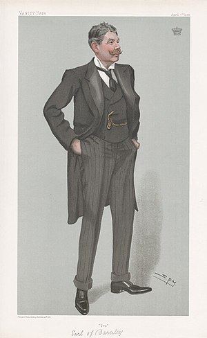 Ivo Bligh, 8th Earl of Darnley - Ivo Bligh caricature by Spy in Vanity Fair, 1904