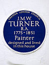 J.M.W. TURNER R.A. 1775-1851 Painter designed and lived in this house.jpg