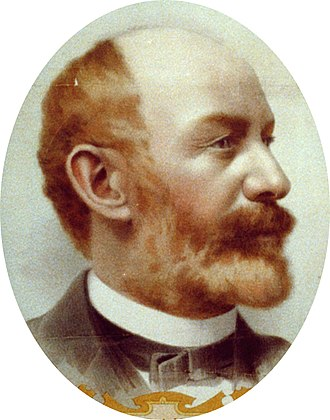 James Anthony Bailey - Image: J. A. Bailey oval portrait