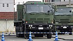 JASDF MIM-104 Patriot PAC-2 Electric Power Plant(Nissan Diesel Big Thumb, 49-0182) right front view at Kasuga Air Base November 25, 2017 02.jpg