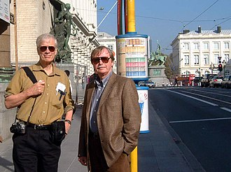 James Alcock - James Alcock and Barry Beyerstein in Brussels