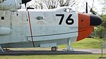JMSDF US-1A(9076) forward fuselage section right side view at Kanoya Naval Air Base Museum April 29, 2017 02.jpg