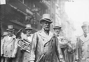 Jazz in Belgium - John Philip Sousa ca 1910