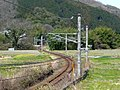 JR和歌山線 JR Wakayama line draws S-shaped curve 2009.3.21 - panoramio.jpg