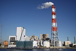 JR East Kawasaki thermal power plant 20101110.jpg