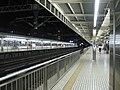 JR Shizuoka Sta. platforms 2008-08-13 night.jpg