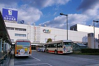 Wakayama Station Railway station in Wakayama, Wakayama Prefecture, Japan