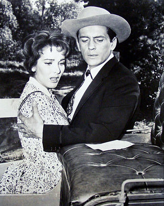 Julie Adams - Julie Adams and Jack Kelly in Maverick