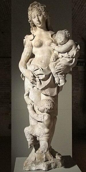 Fonte Gaia - Acca Larentia by Della Quercia
