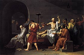 Jacques-Louis David - The Death of Socrates - WGA6058.jpg