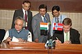 Jairam Ramesh and the Minister of Environment and International Development of Norway.jpg