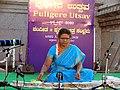 Jaltarang music concert by Vidushi Shashikala Dani at Puligere Utsav Lakshmeshwar.jpg