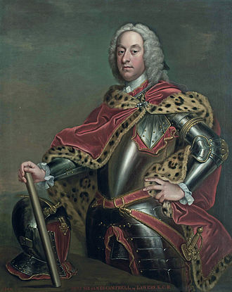 James Campbell (British Army officer, died 1745) - James Campbell of Lawers (c1680-1745) (Follower of Jean-Baptiste van Loo)