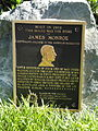 James Monroe plaque - Cleveland Abbe House - DSC00977.JPG
