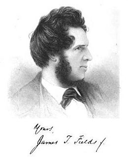 James Thomas Fields American writer and publisher
