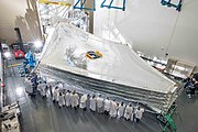 James Webb telescope sunshield