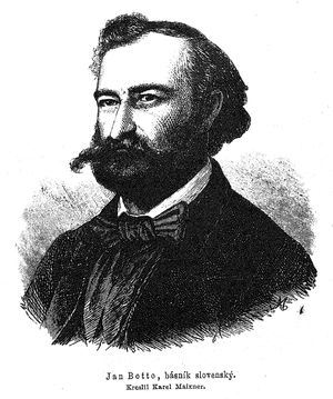 Ján Botto - Image: Jan Botto 1880