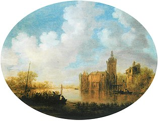 Landscape with Castle Montfoort
