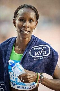 Janeth Jepkosgei Kenyan middle-distance runner