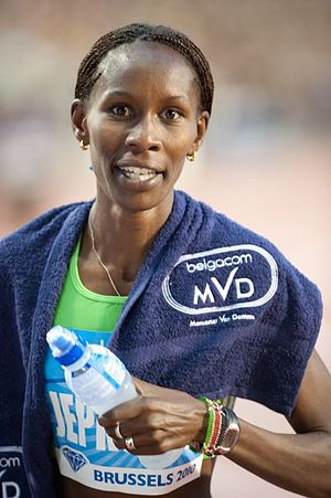 Janeth Jepkosgei - Jepkosgei at the 2010 Memorial Van Damme.