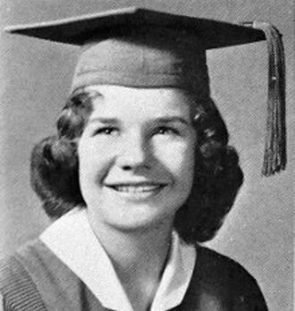 Janis Joplin - Joplin as a senior in high school, 1960.