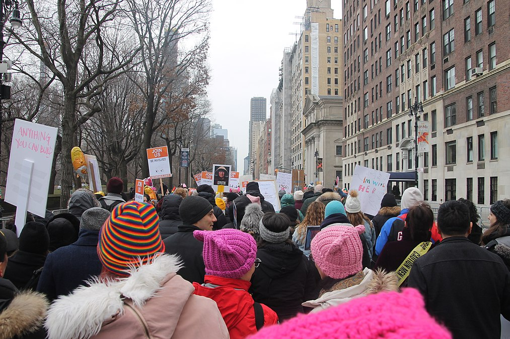 January 2019 Women's Alliance march in NYC (46806264791).jpg