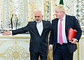 Javad Zarif meeting with UK foreign minister Boris Johnson in Tehran 2017-12-09 01.jpg