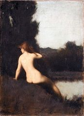 A Bather (Echo)