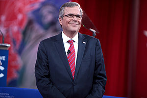 Jeb Bush presidential campaign, 2016 - Jeb Bush speaking at the 2015 Conservative Political Action Conference in March 2015.