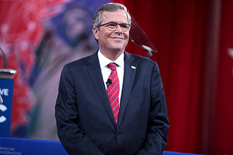 Jeb Bush 2016 presidential campaign - Jeb Bush speaking at the 2015 Conservative Political Action Conference in March 2015.