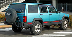 1993-1996 Jeep Cherokee XJ (Right hand drive)