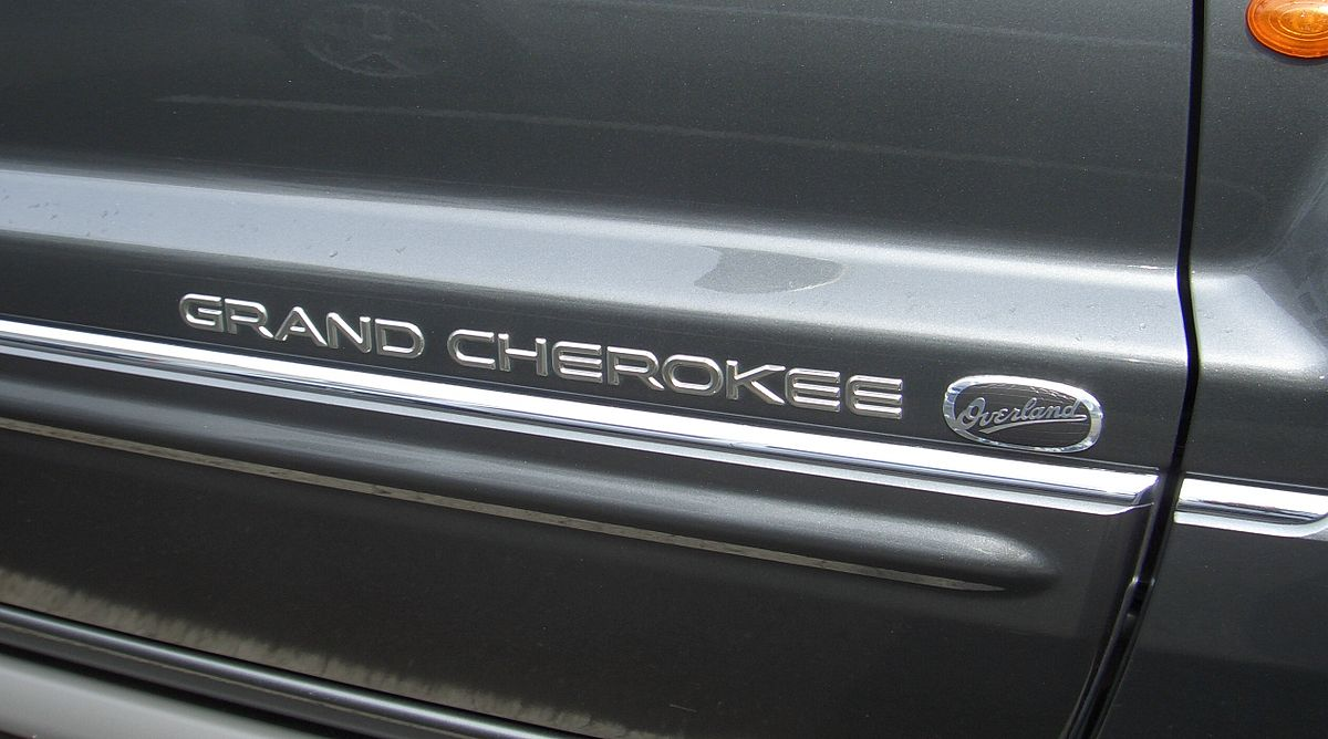File Jeep Grand Cherokee Wk From 2005 Overland From 2006 Doorbadge