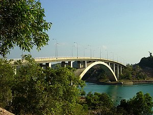 Barelang Bridge - The arch Rempang-Galang Bridge