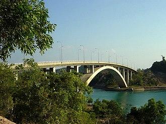 Barelang Bridge - The arch Rempang-Galang Bridge