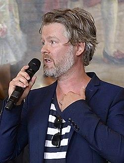 Jens Ohlin under Det Kgl. Svenske Teaters efterårssamling 2014.