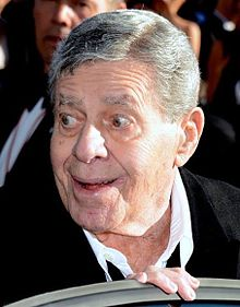L'actor estatounitense Jerry Lewis