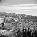 Jeruzalem. Gezicht op de citadel met de Jaffapoort en de toren van David met lin, Bestanddeelnr 255-1617.jpg